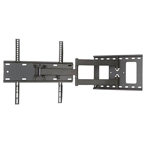 TV / Monitor Wandhalterung Einarm schwarz ausziehbar von 7,3cm bis 44cm schwenkbar, 12° neigbar für LG 75