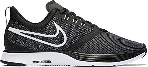 Nike Womens Zoom Strike Scarpa Da Corsa Nero / Bianco-grigio Scuro-antracite