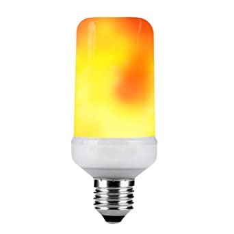 KDP Bombillas LED Llama E27 1600K Luces Creativas con Parpadeo de atmósfera de emulación Lámparas Decorativas