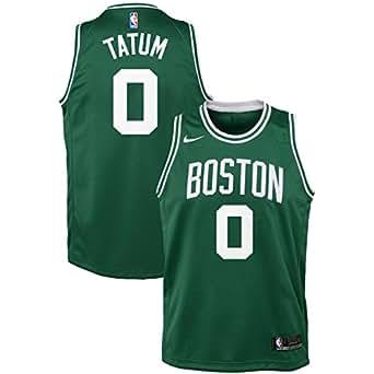 Nike NBA Boston Celtics Jayson Tatum 0 2017 2018 Icon Edition Jersey Official, Camiseta de Niño