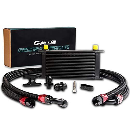Cooler Kit Oil Racing - An10 19 Row Engine Racing Oil Cooler Kit For BMW E46 E36 Euro E82 E9X 135