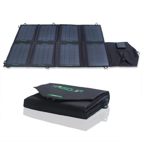 KINGSOLAR 28W Foldable Solar Panel Portable