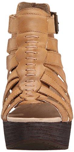 Caterpillar Womens Parasio Sandalo Con Zeppa Soleggiato