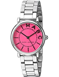 Marc Jacobs Womens Roxy Quartz Stainless Steel Casual Watch, Color:Silver-Toned (Model: MJ3528)