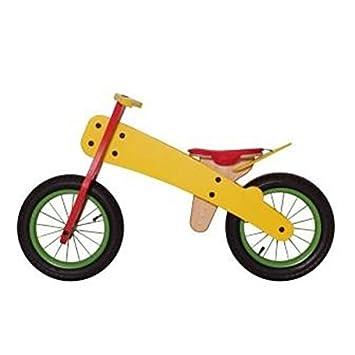 Unidad Aprendizaje - Rueda/unidad - Balance de Madera Niños Bicicleta Rueda dipdap gris para niños a partir de 3 años: Amazon.es: Bebé