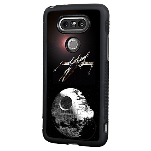 Price comparison product image Star Wars LG G5 Case,  Onelee[Never fade] Star Wars Han Solo Darth Vader LG G5 Case Black PC and TPU Case, [Scratchproof][Drop Protection]