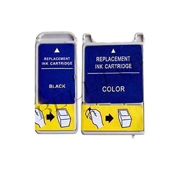 2 Cartuchos de Tinta Compatible para impresora EPSON T028 ...