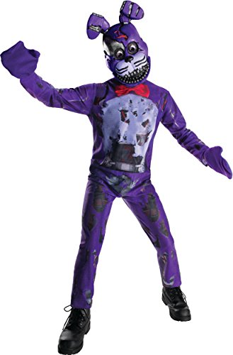 Boy's Five Nights And Freddy's 4 Nightmare Bonnie Costume Large 12-14 ()