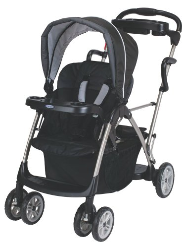 Graco RoomFor2 Stand and Ride Classic Connect Stroller, Metropolis (Discontinued by Manufacturer)