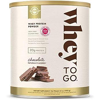 Amazon.com: Solgar - Whey To Go Protein Powder Natural ...