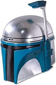 Rubie's Men's Star Wars Deluxe Injection Molded Adult 2-Piece Jango Fett Mask, Multicolor,