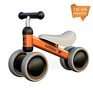 XIAPIA Baby Balance Bikes Bicycle Children Walker for 10 – 24 Month, Ride On Toys for 1 Year Old Boys Girls, No Pedal…