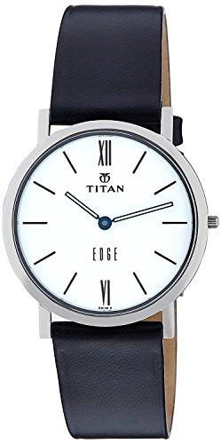 Titan Edge Analog White Dial Men's Watch - NE679SL01 (Titan Edge)