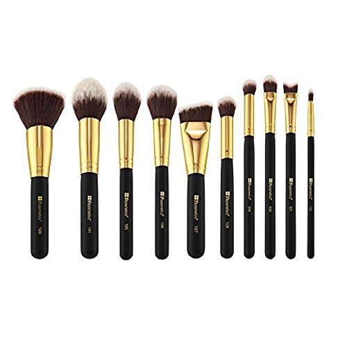 BH Cosmetics Sculpt and Blend 2 Brush Set, 10 Count 41aq48 I9fL