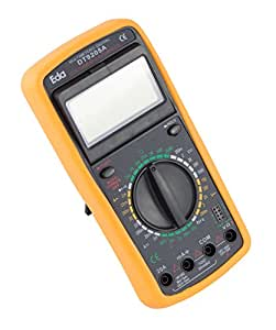 Eda 9KF, Multímetro Digital com Capacímetro, Preto