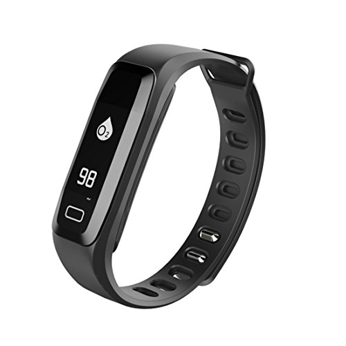 Fitness Tracker, B2Future Bluetooth 4.0 Fitness Tracker Watch, Blood Pressure Heart Rate Monitor Sleep Monitor Calorie Counter Pedometer Activity Tracker for Android and IOS Devices