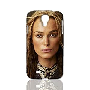 Elizabeth Swann Pattern Image - Protective 3d Rough Case Cover - Hard Plastic 3D Case - For Samsung Galaxy S4 i9500