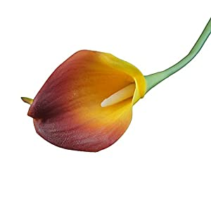 60pc of Live-Feel Real Touch PU Calla lily-more than 30 colors 57