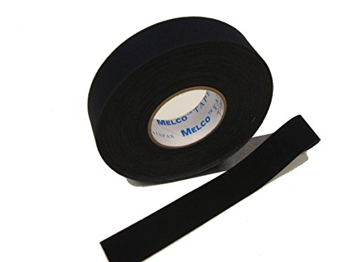 Seam Sealing Tape Melco T-5000 - Hot Melt Wetsuit/Scuba Tape - 5 Metres - Iron on (Black, 25mm Width) ()