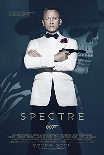 Lea Poster - SPECTRE JAMES BOND 007 (2012) Original Authentic Movie Promo Poster - 11x17 - Danial Craig - Christoph Waltz - Lea Seydoux - Ralph Fiennes