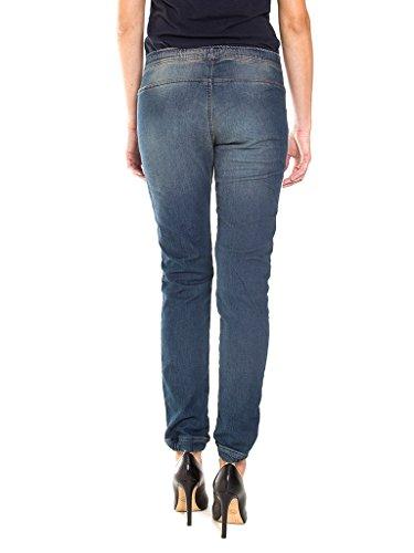 denim avec 756 Jeans Carrera Bleu basse style Ruptures droit taille Jeans Lavage extensible femme taille pour des tissu Fonc 127 loose style q8qEHBp
