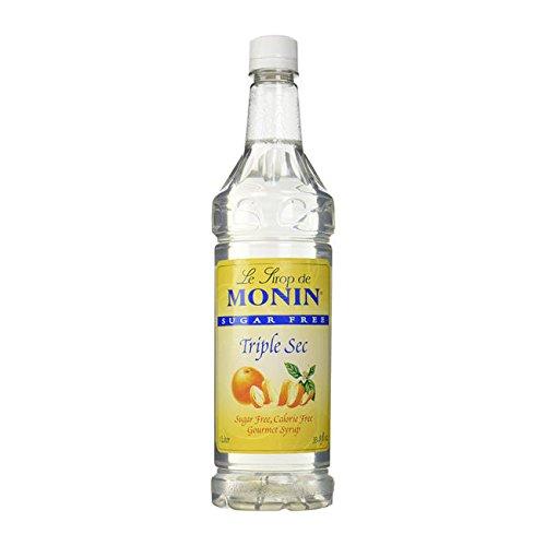 Monin Inc M-FS044F Triple Sec Syrup Sugar Free PET (SET OF 4/EA PER CASE)