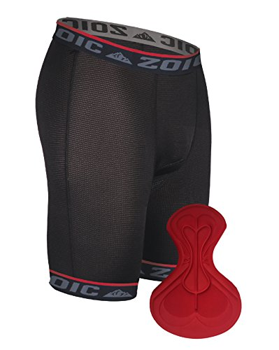 Zoic Men's Essential Liner Shorts, Black, Medium