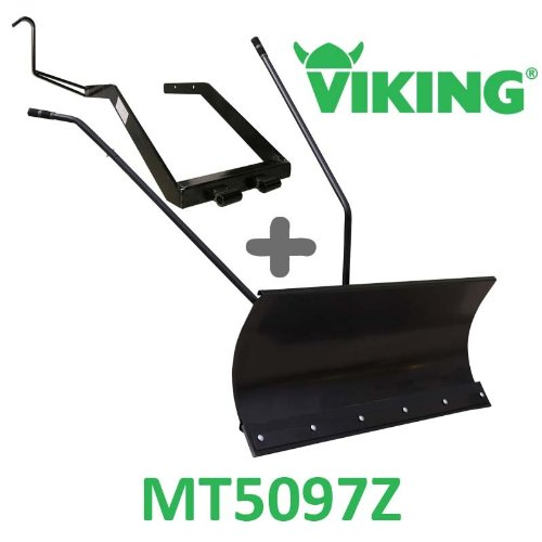 Hoja de nieve 118 cm negra + adaptador para Viking MT5097Z: Amazon ...