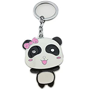 Letshopping® Panda Hometown Cute Panda Keychain