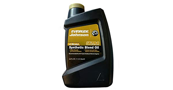 Amazon.com: Johnson/Evinrude Ultra 4stroke Aceite 32oz ...