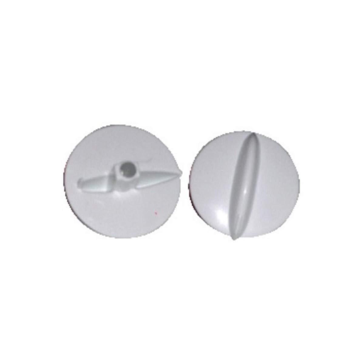 Recamania Mando microondas Moulinex Blanco Eje 6mm