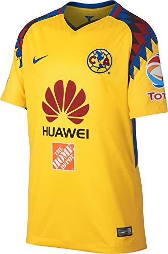2e5e93311b3 NIKE Youth Club America 2018 Stadium Third Jersey- Yellow YM