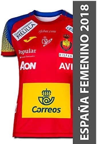 JOMA SPORT 1ª Camiseta Oficial de la Selección Española de Balonmano para Mujer: Amazon.es: Deportes y aire libre