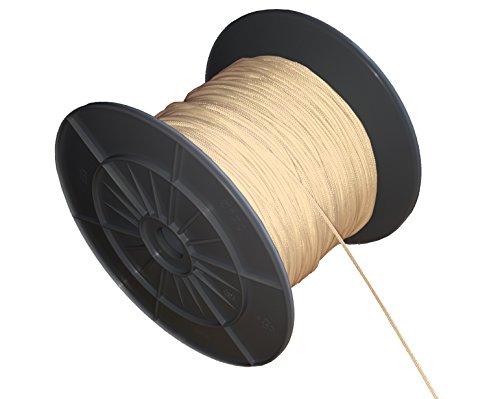 EFIXS Zugschnur für Holzjalousien ~ Farbe: natur ~ Länge 10 Meter ~ Ohne Rolle