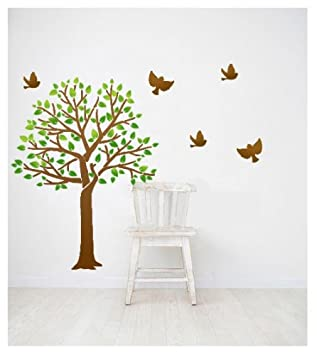 J BOUTIQUE STENCILS Wall Tree Stencil TEMPLATE Tree   Large Size   Reusable  Stencil For DIY Part 98