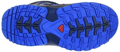 Salomon L39029600, Botas de Senderismo Niños Azul (Slateblue /             Blue Depth /             Bright Blue)