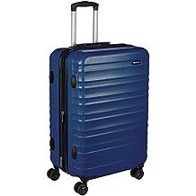 AmazonBasics Hardside Spinner Luggage - 24-inch, Navy Blue
