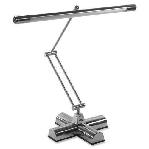 Advantus Desk Lamp, Swing-Arm, w/Bulb, Adjustable, 13 Watt, Silver (L9095) by ADVANTUS CORPORATION