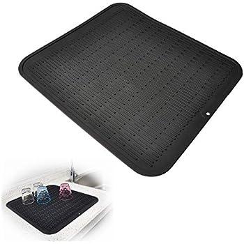 Amazon Com Premium Xl Silicone Dish Drying Mat Anti
