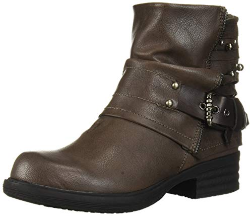Fergalicious Women's Maven Fashion Boot, Grey, 7 M M US