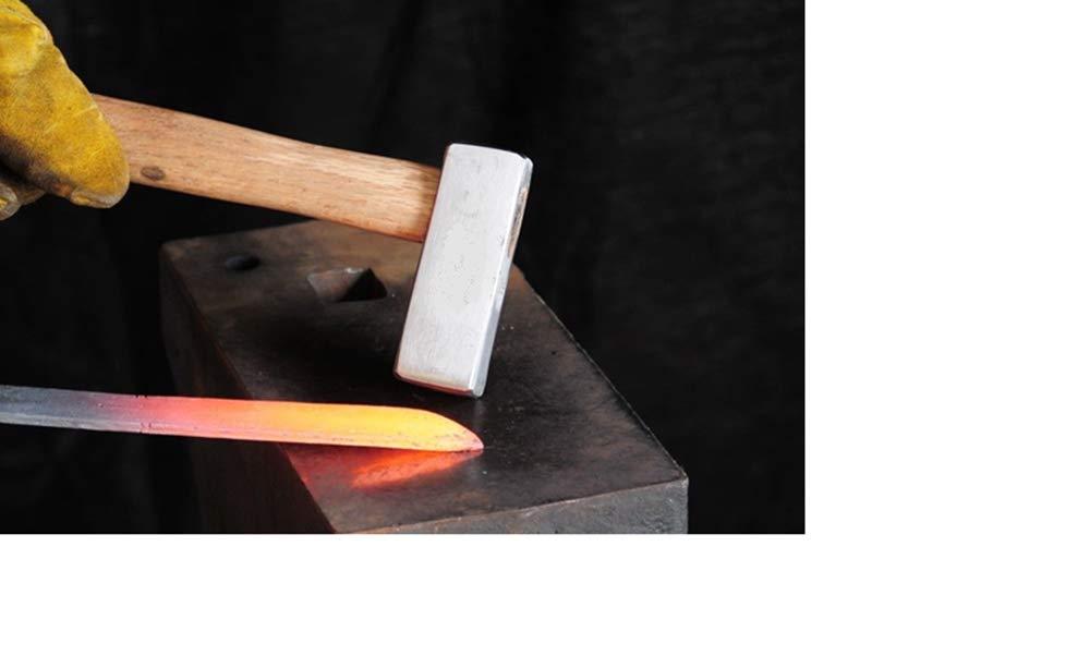 New Japanese Blacksmith Hammer, 2.5 lb | Dog head hammer | Knife making | Forging 13'' L handle -Excellent stability (Only 5 pcs Left) US- fast ship