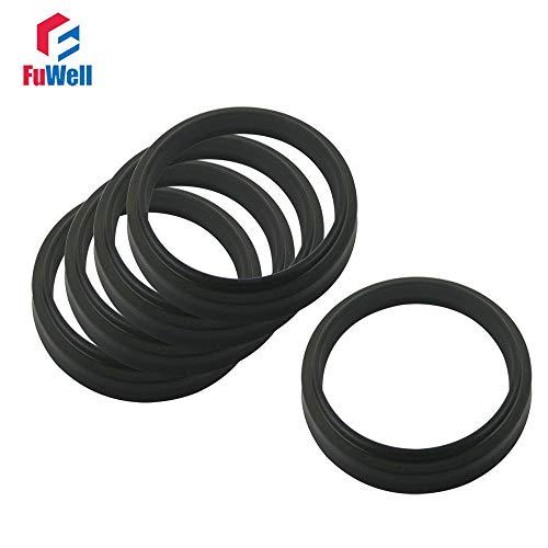 20x6mm Cylinder - Ochoos 11.2x19.2x6mm NBR LBH Type Hydraulic Pump Oil Seal Oil Dust-Proof Hydraulic Cylinder Seal for Oil Cylinder 28x36x6/30x38x6mm - (Size: 12x20x6mm, Color: 1pc)