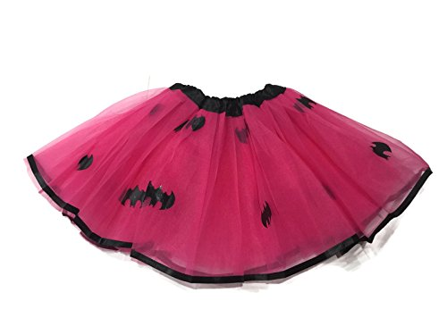 Rush Dance Superhero Ballerina Girls DressUp Princess Fairy Costume Recital Tutu (Kids (3-8 Years), (Batman Costume Sydney)