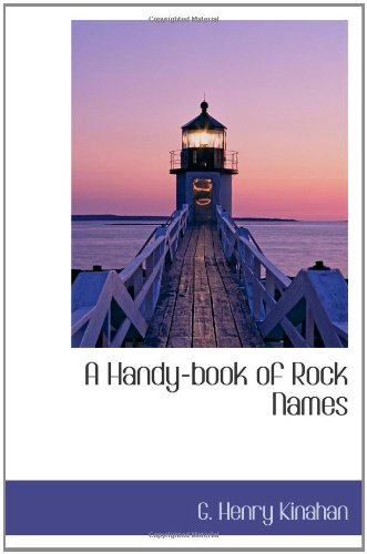 A Handy-book of Rock Names ebook