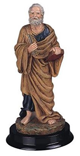(StealStreet SS-G-312.61, 12 Inch Saint Peter Holy Figurine Religious Decoration Statue Decor)
