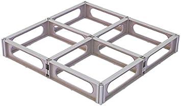 1 Each 70L x 24W x 3-5//8H Brown HD1-2F Addendia Inc 4-Way Modular Polypropylene Pallet