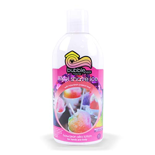 - Bubble Shack Lilikoi Shave Ice Body Lotion, 8oz