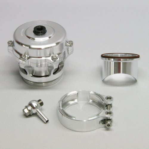 TiAL Q.11 Q Series Blow Off Valve 50mm BOV Silver 11 PSI Spring Aluminum Flange