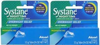 Systane Nighttime Lubricant Eye Ointment-0.123 oz, 3.5g, by Systane