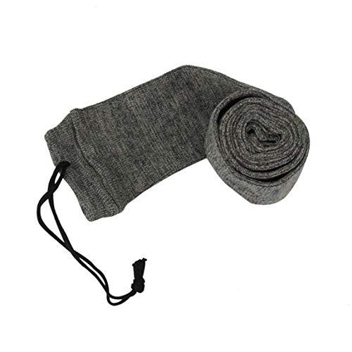 Air Gun Rifle Slip (Legend Silicone Treated Gun Sock 54'' Rifle/Shotguns Shooting Outdoor Hunting Gun Storage Oil Air Bag Slip Cover Tactical Accessories (Gray))